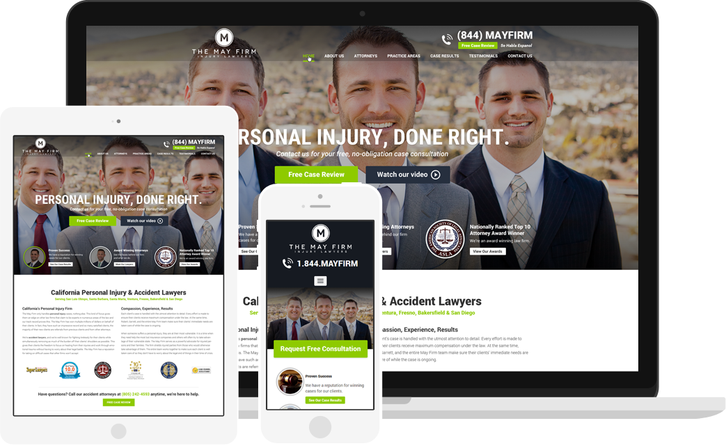 Law Firm Website Design | Modern Websites for Attorneys & Lawyers